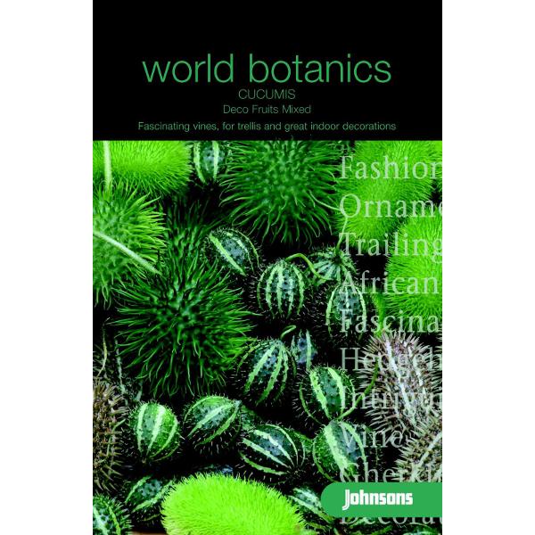 Växthusgurka CUCUMIS Deco Fruits Mixed-Frö till Växthusgurka