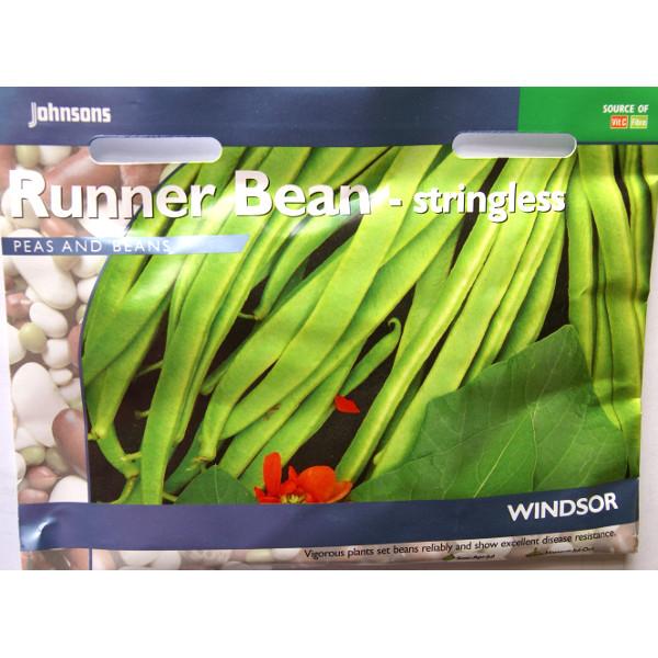 Rosenböna RUNNER BEAN Windsor#-Frö till Rosenböna