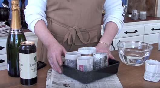 Papperskrukor - tillverka egna
