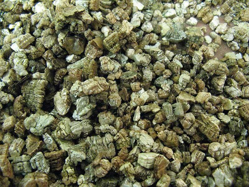 Vermikulit till odling av frön och sticklingar