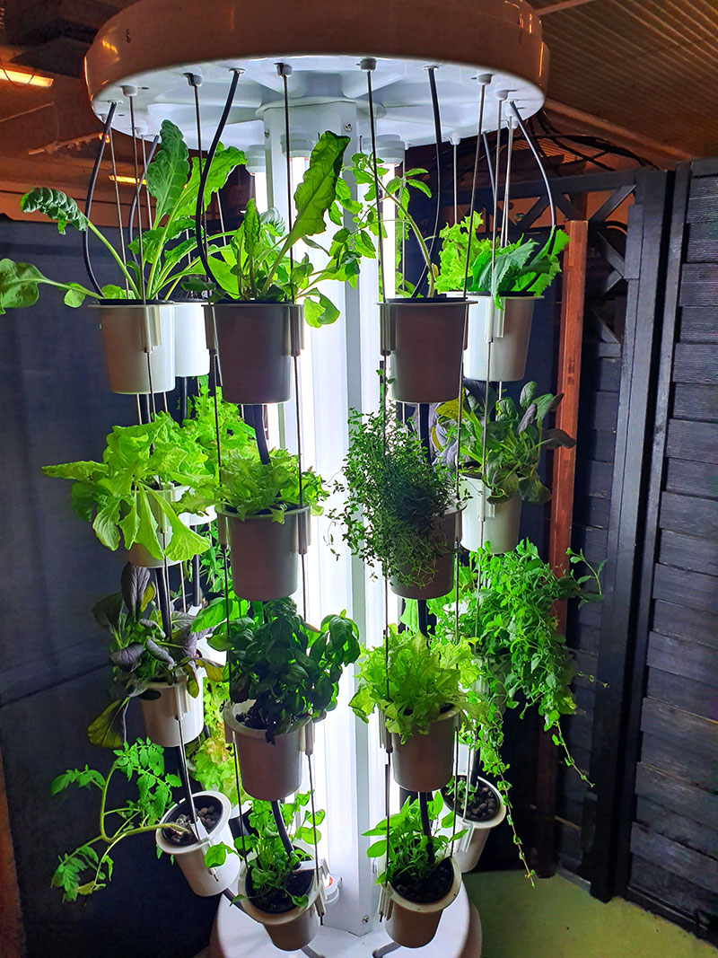 Nutritower, hydroponiskt odlingssystem