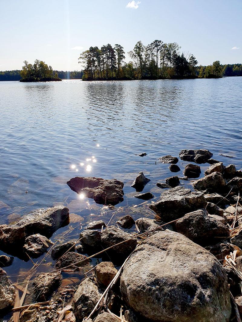 Utsikt över Malmsjön i Södertälje