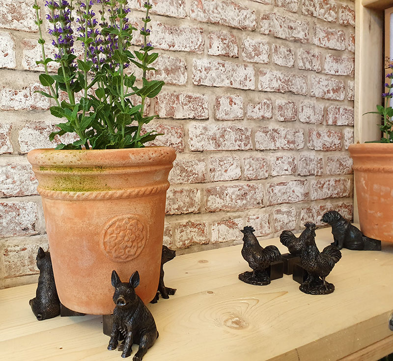 Potty Feet krukfötter på Chelsea flowershow