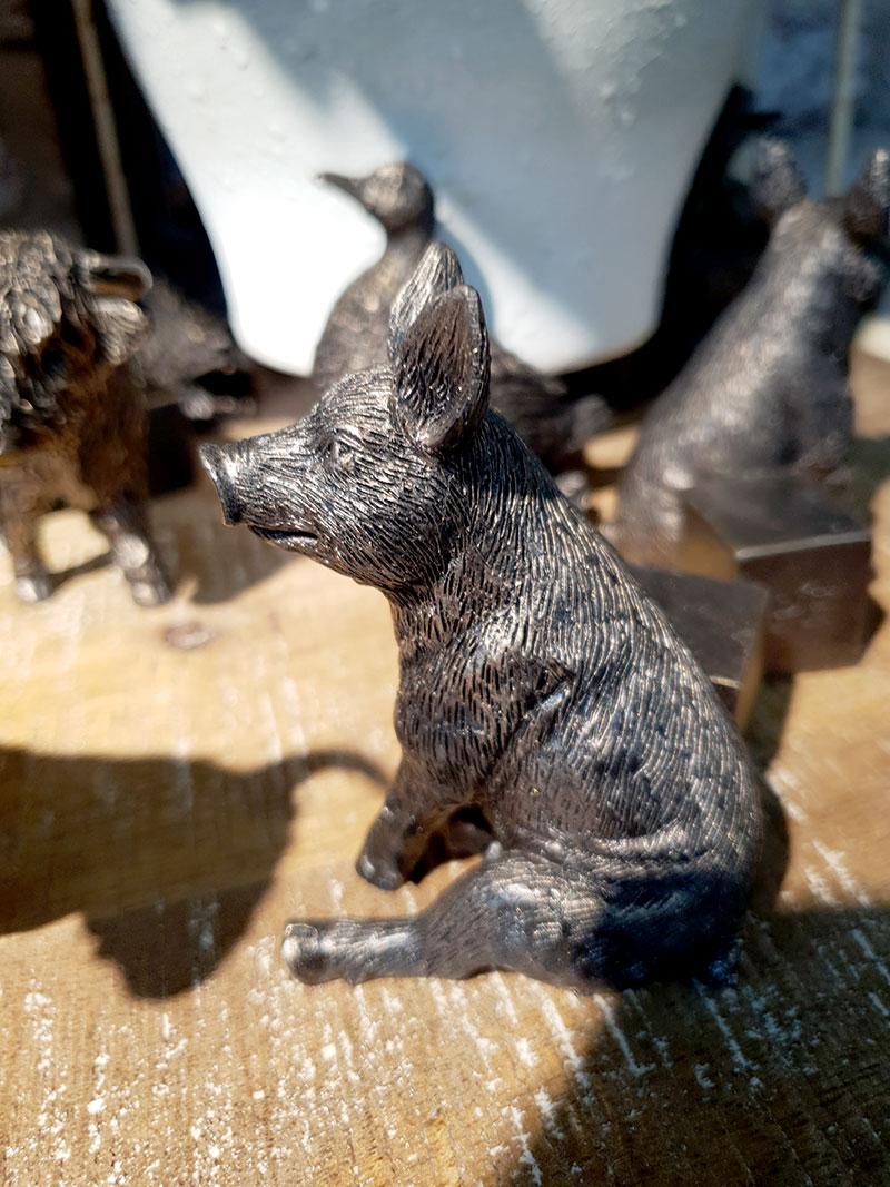 Krukfötter modell gris