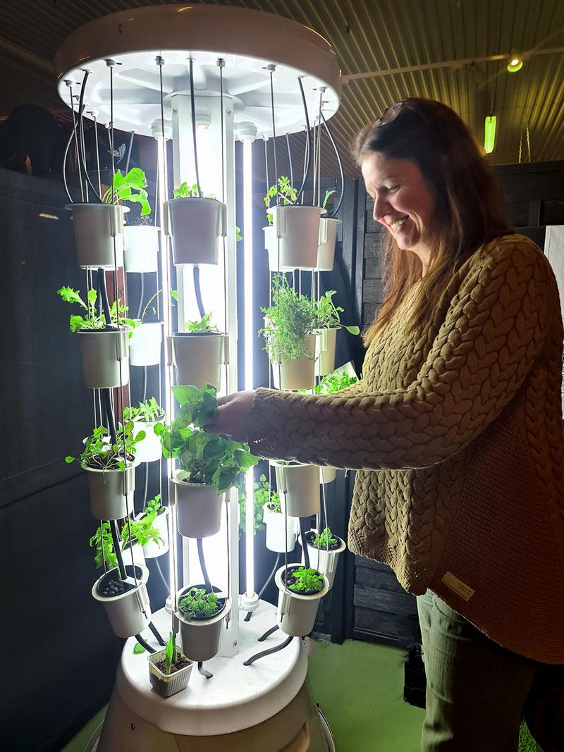 Nutritower odlingstorn för hydrokultur