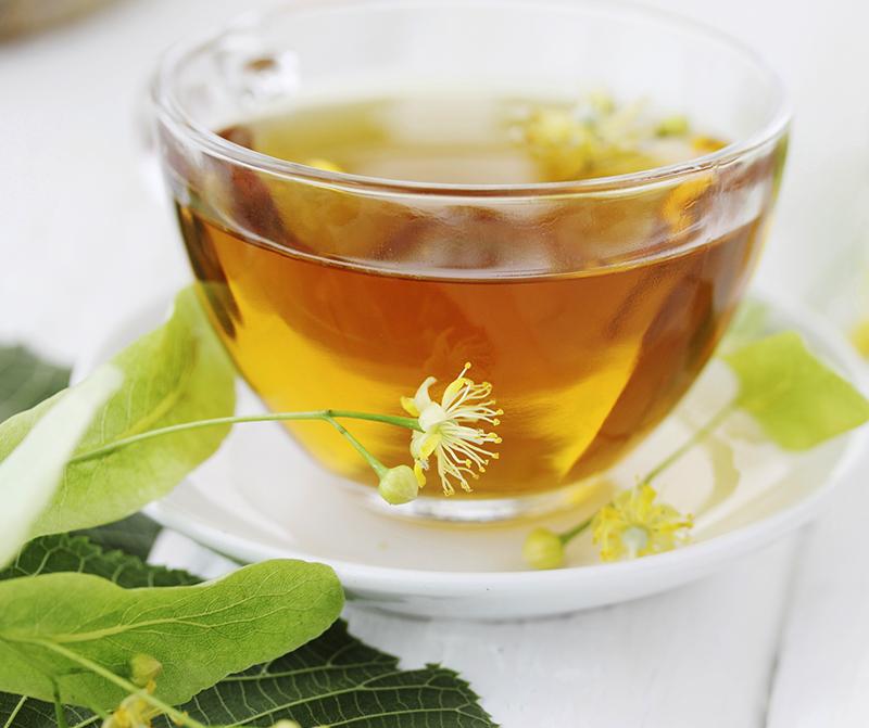 Lindblommor till te
