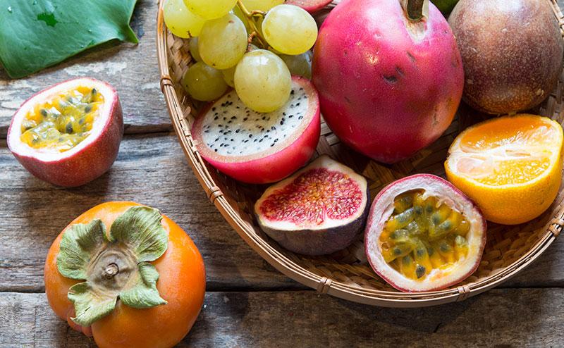 Frösådd av exotiska frukter