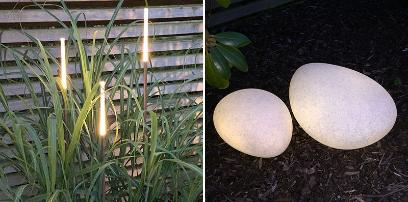belysning utomhus i trädgården
