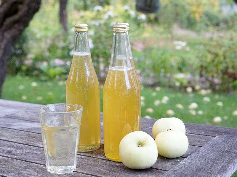 Kallrörd äppelsaft