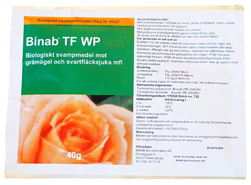 Binab - Trichoderma. Nyttosvampar för biologisk bekämpning av skadegörare