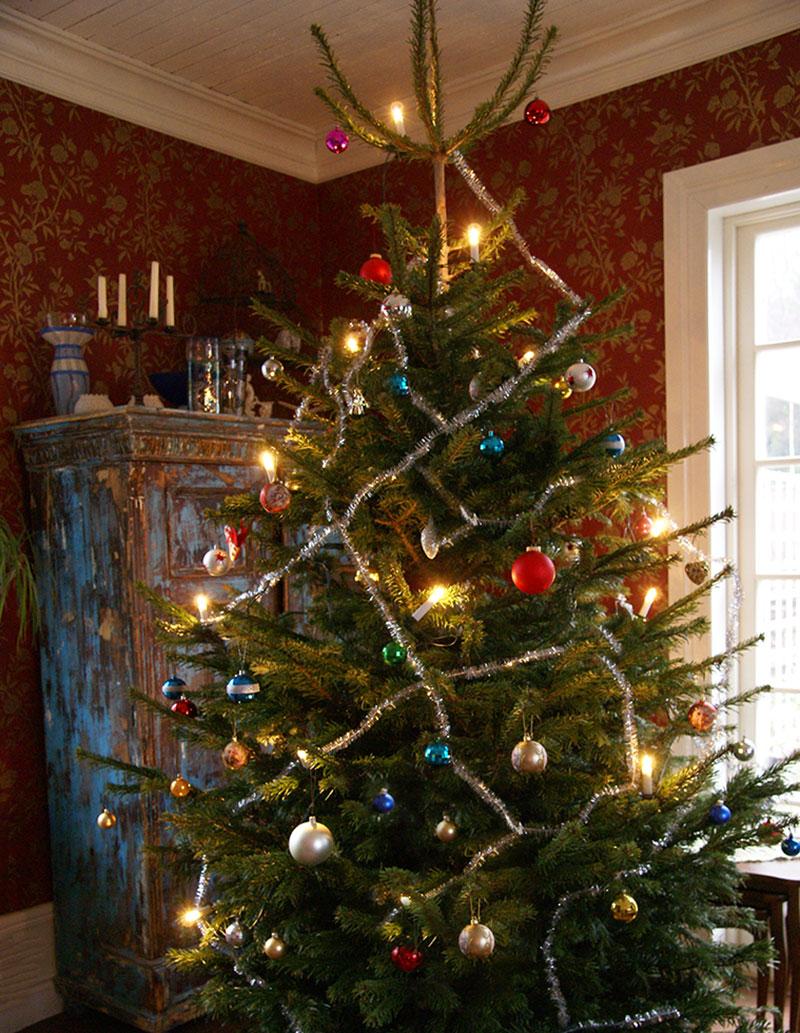 Julgran med julpunt