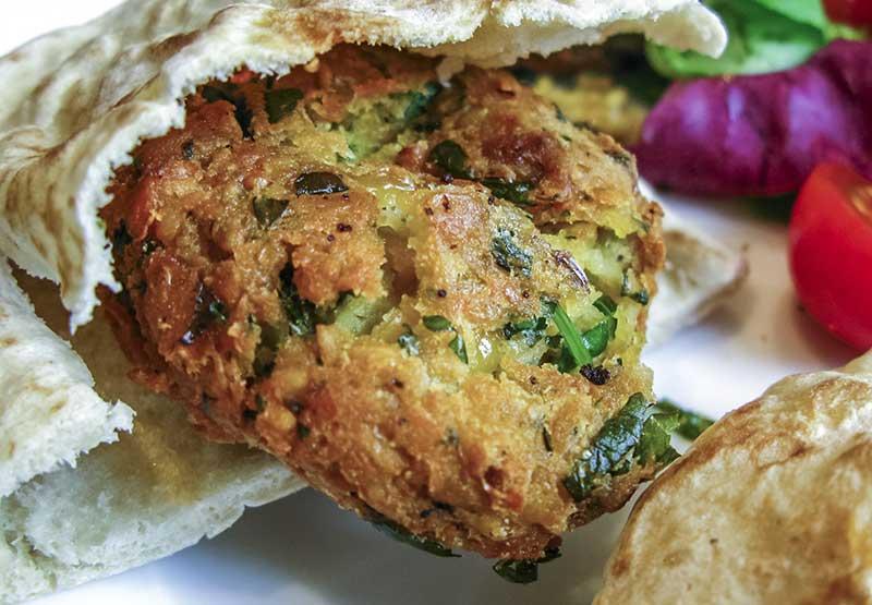 Kikärt i falafel