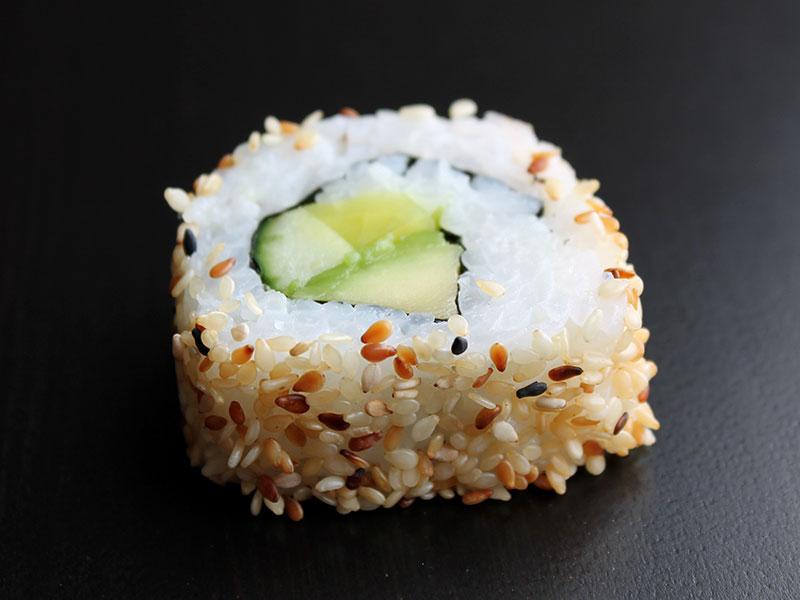 Rättika i sushi