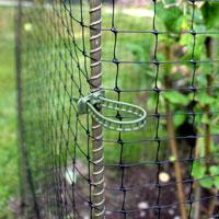 Softbinder, öppningsbart buntband för uppsättning av trädgårdsnät m.m.