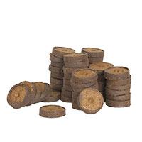 Kokosbriketter, 50-pack