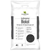 biokol för inblandning i jorden