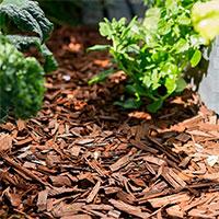 Dekorflis nötbrun för täckning och dekor