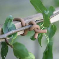 Gummiklädd stårtrådssnöre för uppbindning av växter