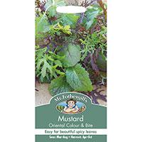 Bladsarepta 'Colour & Bite', Brassica juncea