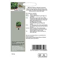 Odlingsråd för Sallatsmix med kryddig smak