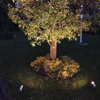 Luna Black LED Garden Plug & Play mått