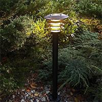 Trädgårdsbelysning Saturnus, Svart - LED Garden Plug & Play