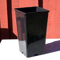 Roskruka/perennkruka i plast 13 x 13 x 23 cm