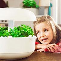 Plantui Smart Garden med barn