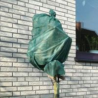 Kronskydd i fiberduk 50gram, grön