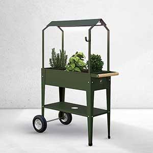 Urban Garden Trolley, odlingsvagn med överdel