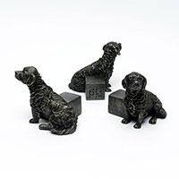 Krukfötter Retriever, brons, 3-pack