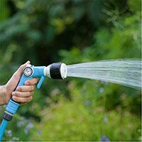 Bevattning med Flopro + sprutpistol Activ