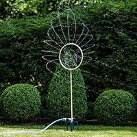 dekorativ vattenspridare motiv nyckelpiga från Flopro