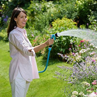 Bevattning med spraymunstycke Flopro + Activ