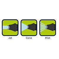 Sprutmönster Flopro Professional Jet sprutpistol