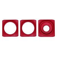 Dekorring till Minigarden Basic S Pots, röd