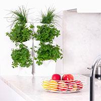 Odlingsvägg Minigarden One, vertikalodling i köket