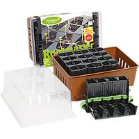 Miniväxthus med pluggar och underbevattning - Rootmaster