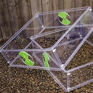 Höjdmodul för minidrivhus Vitopod för bättre utrymme och ventilation av växterna
