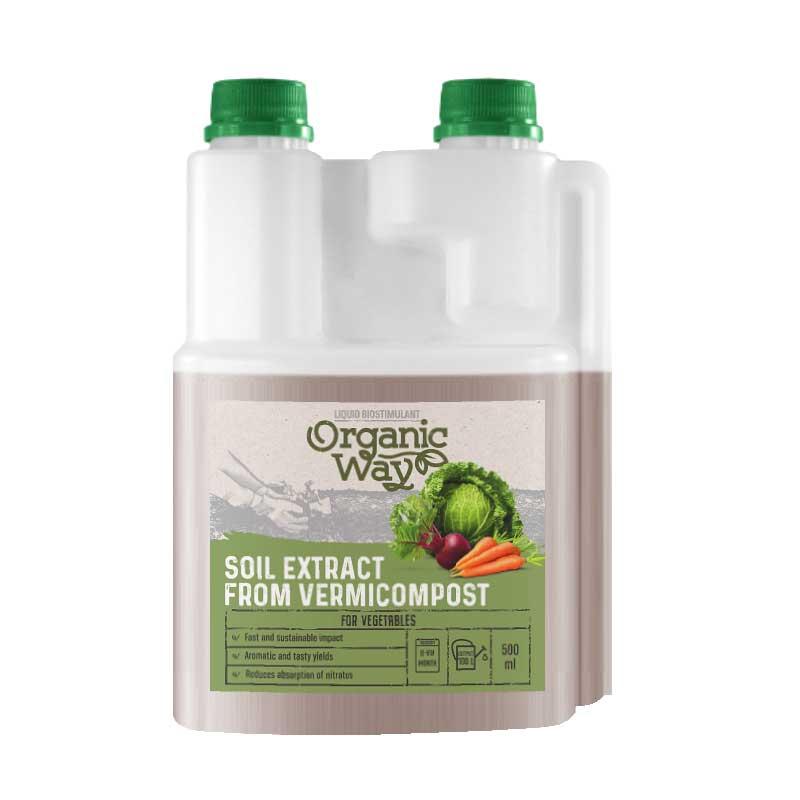 Ekologisk biostimulator Vermi / köksväxter
