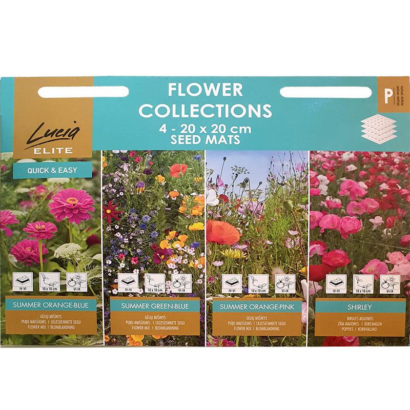 Frömattor, Flower Collection