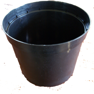 Plastkruka 5 liter, 3-pack-plastskruka