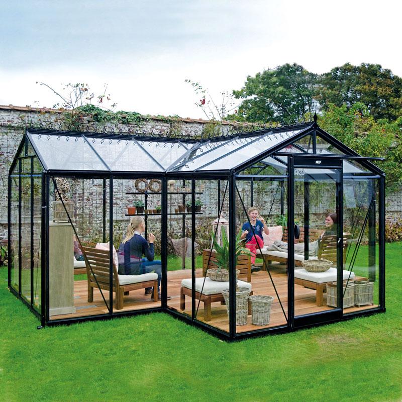Orangeri Babette, ett växthus för odling och avkoppling