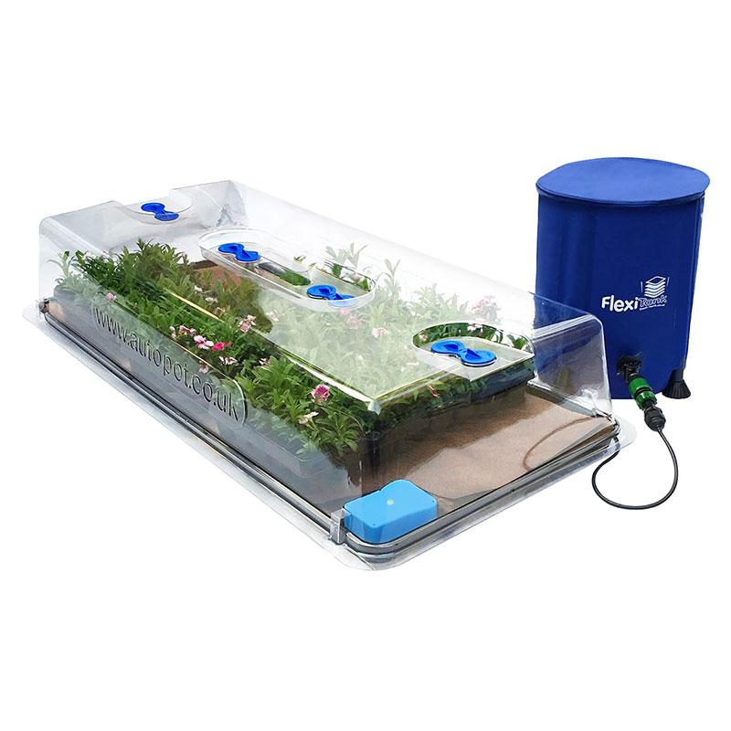Komplett minidrivhus, easy2Propagate, med flexi-tank på 25 liter.