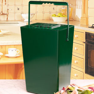 Compost Caddy - en luktfri komposthink-Luktfri Komposthink med kolfilter