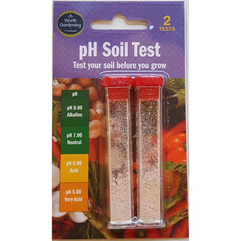 Ph-test för jord