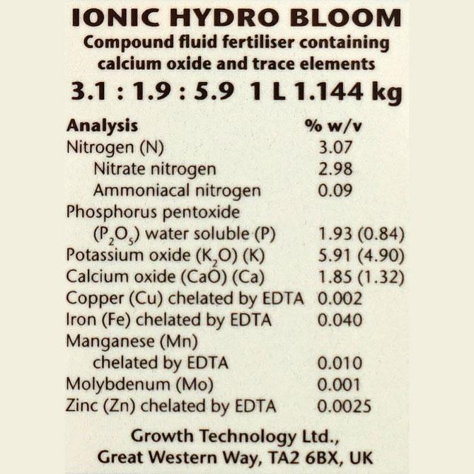 IONIC Hydro Bloom, 1 liter,
