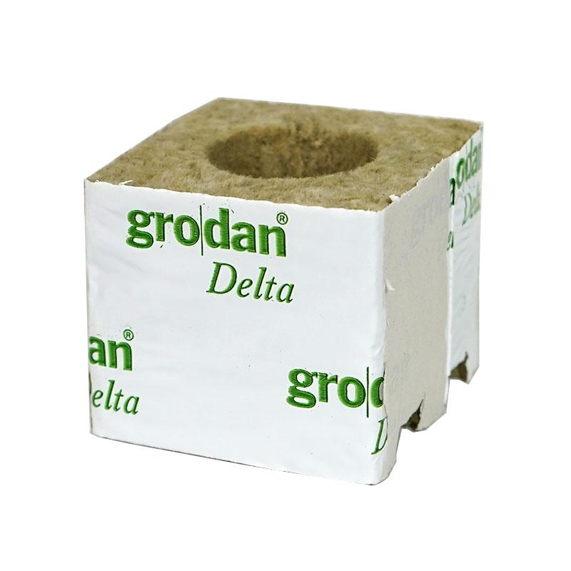 Grodan Rockwool odlingskub 7,5 cm för odling i hydrokultur
