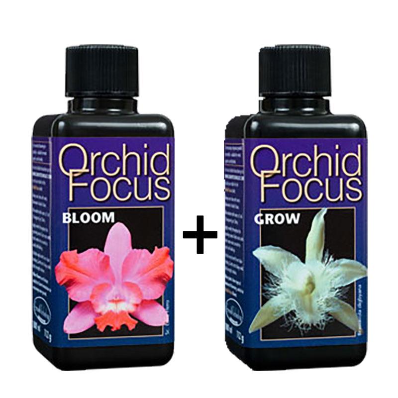 Special Orchid Focus Bloom+Orchid Focus Grow, ...-Näring för orkideer utvecklad av proffs
