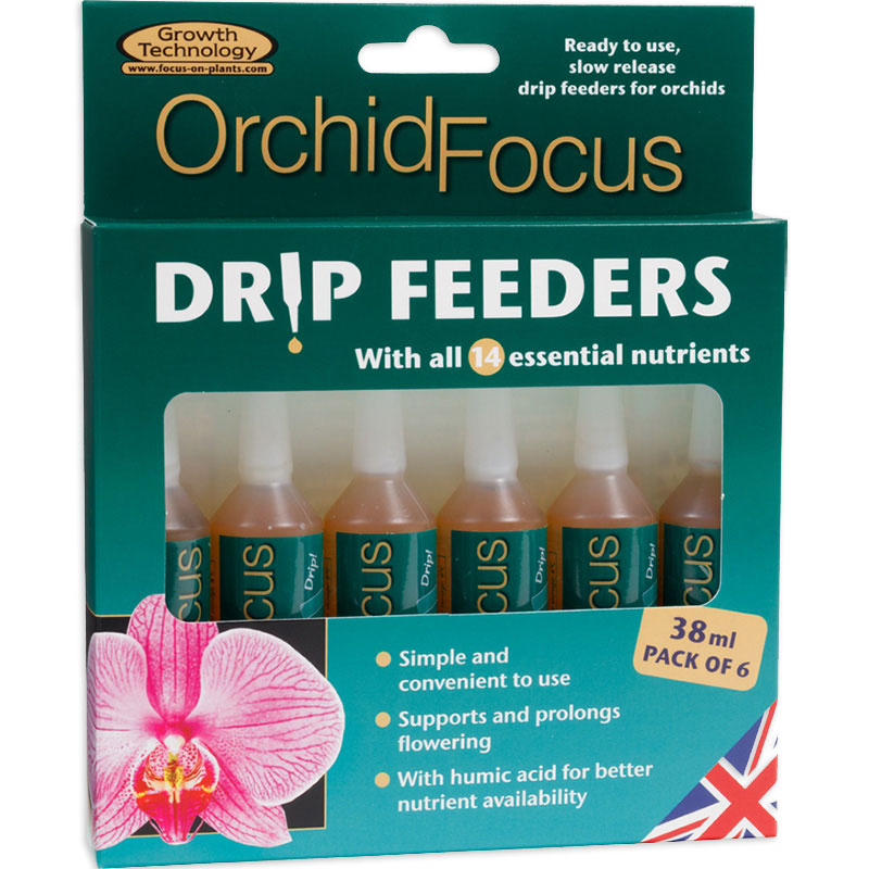 Orkidénäring i droppform - Orchid Focus Drip Feeder, 10-pack